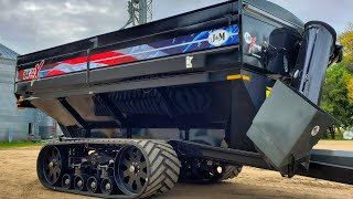 Our MASSIVE American Grain Cart is here!