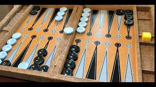 Crisloid Tournament Attaché Backgammon Set - *UNBOXING*