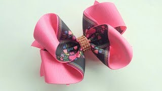 Exotico Hair Bow 🎀 Ribbob Bow Tutorial 🎀 DIY By Elysia Handmade