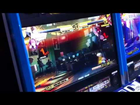 Persona Punches Out Arcade Gameplay Footage