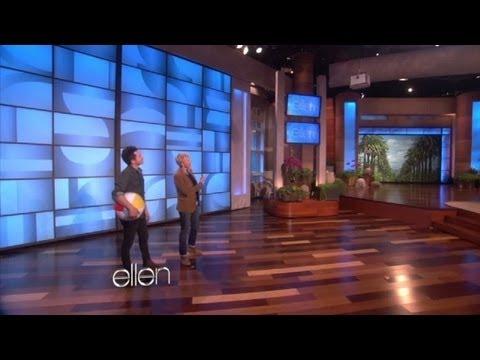Justin Willman on Ellen show