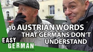 10 Austrian Words that Germans don't understand | Easy German 222 - dooclip.me