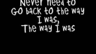 The Way I Was - Maroon 5 - (Lyrics)