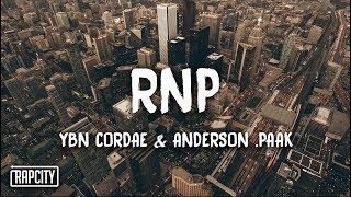YBN Cordae   RNP Ft. Anderson .Paak (Lyrics)