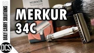 Merkur 34c: The SAFEST Double-Edge Safety Razor for All Skill Levels?