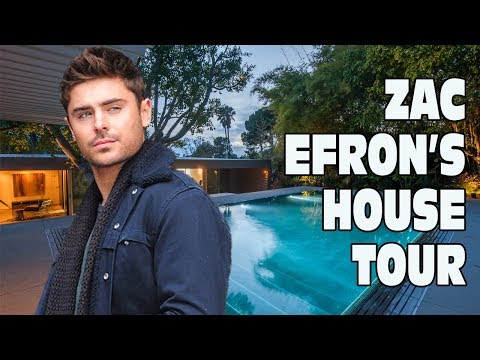 Zac Efron's House Tour