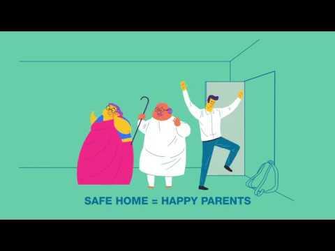 Make your home safe for elderly parents
