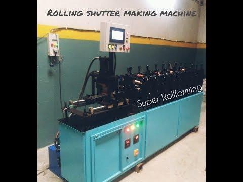 6 Roll Rolling Shutter Machine