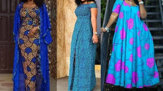 African Fashion: Ankara Styles || Aso Ebi Styles || Ankara Maxi Gowns For Beautiful & Classy Queens