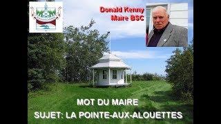 MOT DU MAIRE DE LA MUNICIPALITÉ - Pointe-aux-Alouettes et le respect