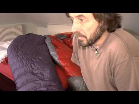 Schlafsack Kaufberatung Daune/Kufa