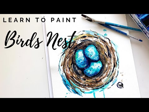 Learn To Paint Nature - Online Watercolor Classes For Beginners
