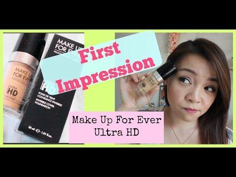 Ấn Tượng Đầu và Đánh Giá - First Impression Review - MUFE Ultra HD Foundation | TrinhPham