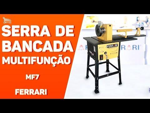 Serra de Bancada Multifunção 1500W  - Video