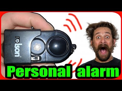 Personal alarm system at your keychain