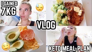 KETO DIARIES 🎥 W1 EP 1 🥑 GAINED 7KG 😓 BACK ON MEAL PLAN ✅ JASMINE HAND