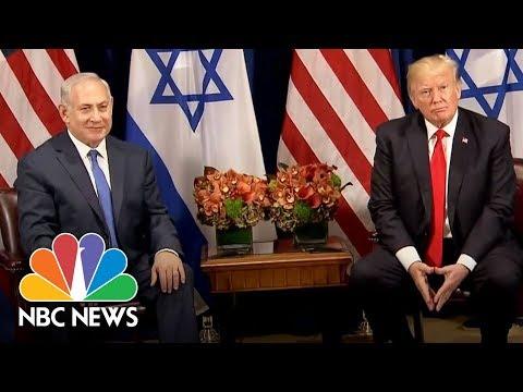 President Donald Trump To Benjamin Netanyahu At U.N.: 'Good Chance' For Peace Deal | NBC News