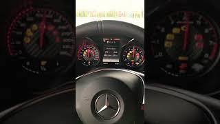 Холодный запуск Mercedes benz amg GTs
