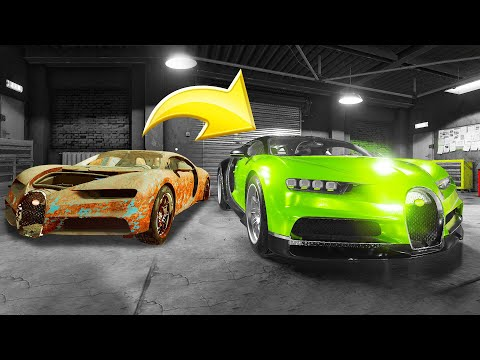 Fixing A $2,200,000 BUGATTI Chiron! (Car Mechanic Simulator)