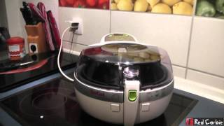 Unboxing Tefal ActiFry FZ7000 - Fritteuse - 1450 W - Weiß-Silber - Test