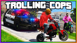 GTA 5 Roleplay - TROLLING COPS WITH MINI BIKES | RedlineRP