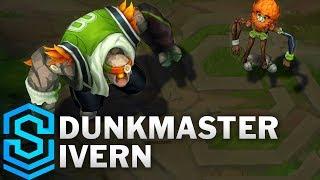 Dunkmaster Ivern Skin Spotlight - Pre-Release - League of Legends