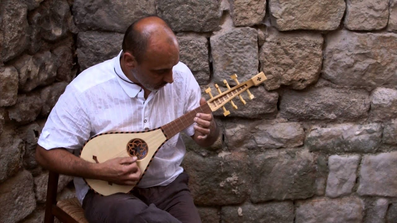 Instrument  Lute Guitar  Corsica Medieval Middle ages Street
