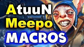 AtuunN MACRO MEEPO = DISQUALIFIED! - TI8 South America - SG vs THUNDER DOTA 2