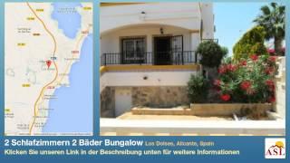 preview picture of video '2 Schlafzimmern 2 Bäder Bungalow zu verkaufen in Los Dolses, Alicante, Spain'