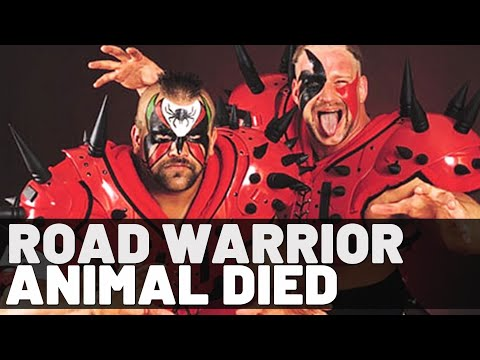 WWE Legend | Road Warrior Animal | Dead at 60