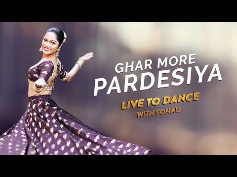 Ghar More Pardesiya | Kalank | Dance Cover | Varun, Alia & Madhuri | LiveToDance with Sonali