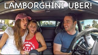 Video Picking Up UBER Riders In A Lamborghini! MP3, 3GP, MP4, WEBM, AVI, FLV September 2019