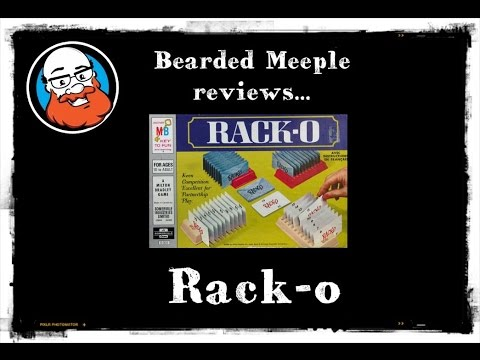 Bearded Meeple reviews Racko