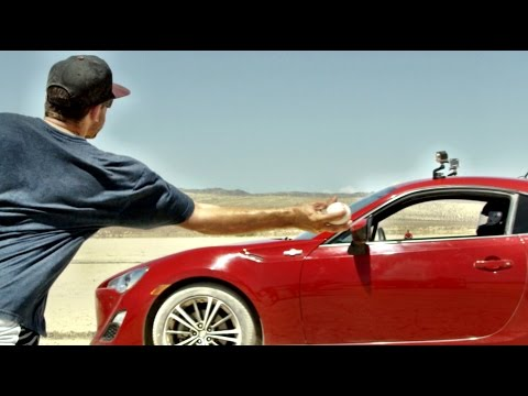 Desert Drifting Baseball Edition | Dude Perfect