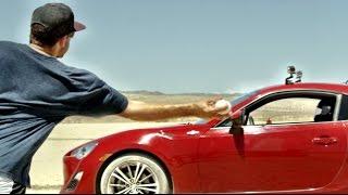 Desert Drifting Baseball Edition | Dude Perfect