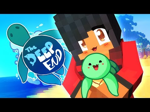 A New Summer Look! | The Deep End Minecraft Survival | Episode 1