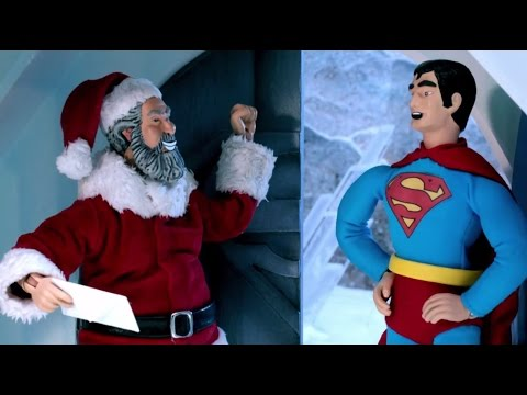 Santa vs Superman
