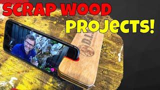 Scrap Wood Projects For Beginners. Under $5 Bucks!