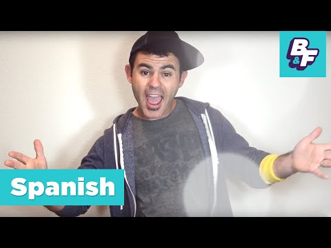 Learn Spanish clothing words with BASHO & FRIENDS [Viewer's Choice] - La Ropa