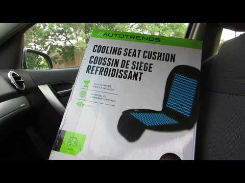 Autotrends Cooling Seat Cushion Review