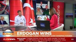 Erdogan Wins: with re-election, Turkey