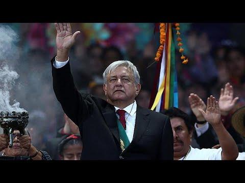 Ορκίστηκε ο νέος πρόεδρος του Μεξικού