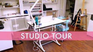 Illustrators Studio Tour! Inside My New Art Space