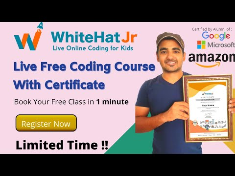 WhitehatJR - Free Coding Courses With Certificate   Book Your Free ...