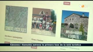 preview picture of video 'VOTV - Cànoves i Samalús estrena la primera fase de la web turística'