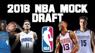2018 NBA Mock Draft | Picks 1-14