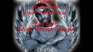 Difficult Lyrics (Proof Tribute)