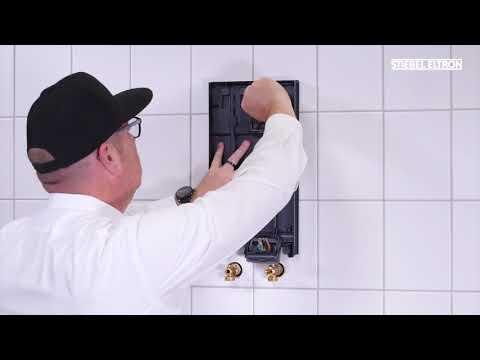Installationsfilm Durchlauferhitzer DHB-E LCD