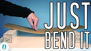 HOW TO Make Flexible MDF With A Circular Saw And A Homemade Jig (for MDF Kerfing) #Woodworking