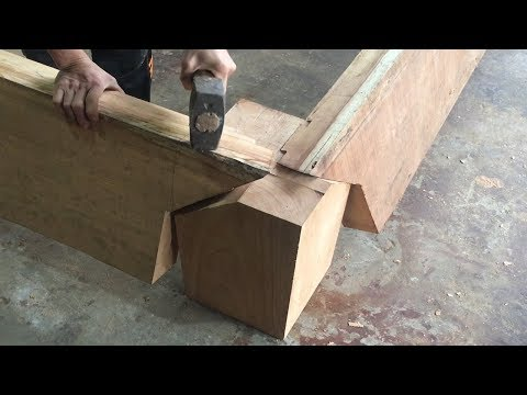 Amazing Techniques And Skills Build Magic Wood Joints // Smart Creative Joints You&#39ve Never Seen